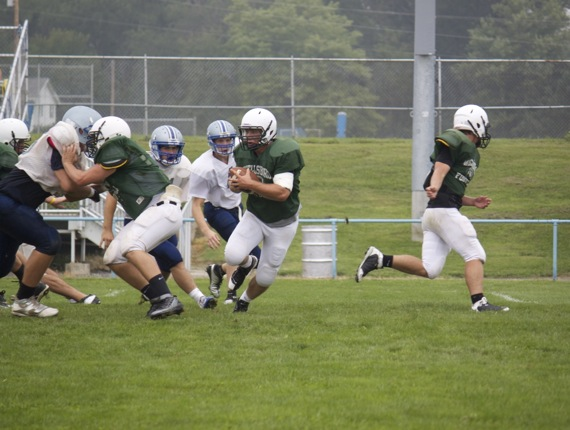 Warrior Run Scrimmage