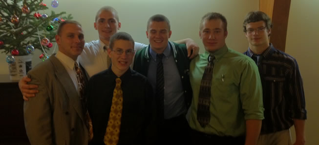 Gridders Club honors 2011 Seniors.