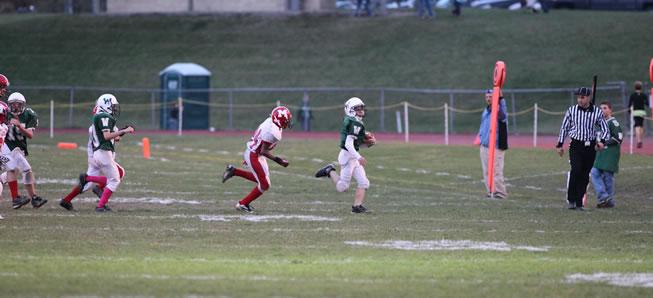 M.S. Football tops Montgomery on Thursday