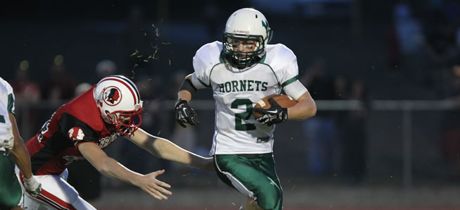 Hornets turn out the lights on Canton