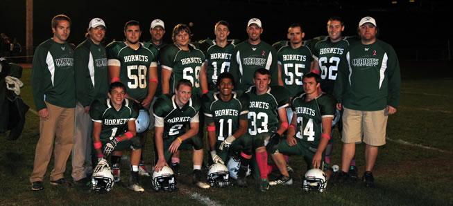Hornets roll over Montgomery on Senior Night