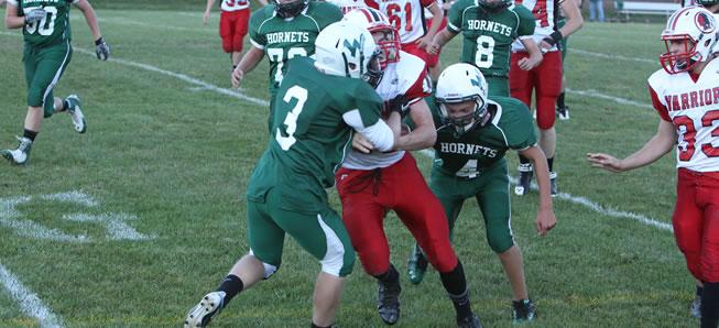 JV football falls to North Penn