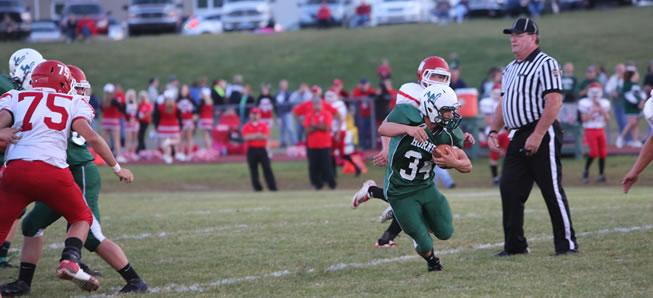 Hornet football tops Troy, 26-17