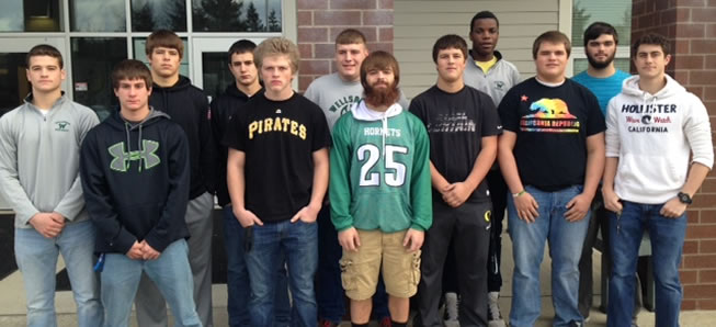 12 Hornets selected to NTL All-Star football team.