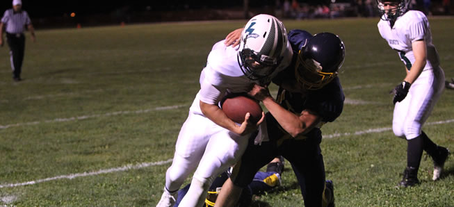 Hornet football notches 48-0 win over CV.