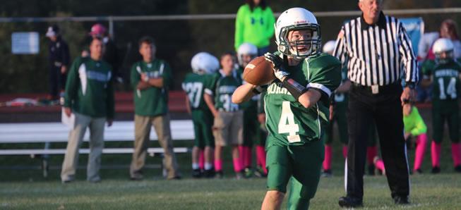 Middle School Football tops Sayre, 21-18