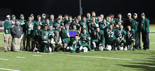 Rise as One: Hornets top North Penn 33-12 for District IV crown
