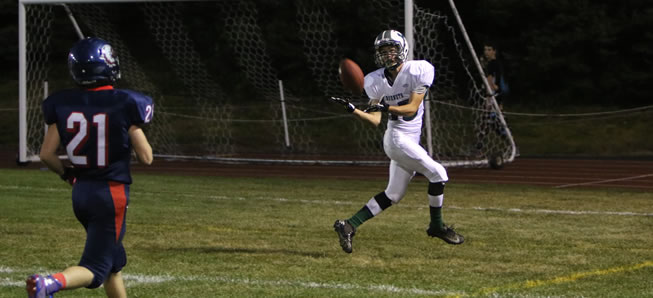 Hornets score 32 unanswered points to beat Sayre, 32-7