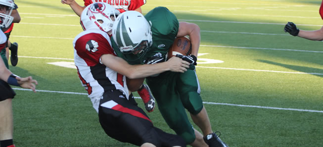 JV Hornets survive late Canton scare