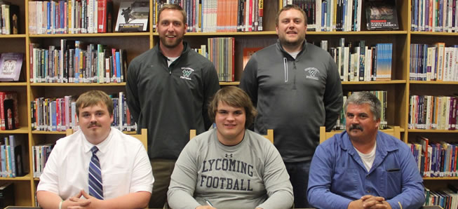 Covert continues football career at Lycoming