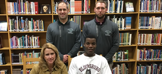 Smethers to play football at Bloomsburg.
