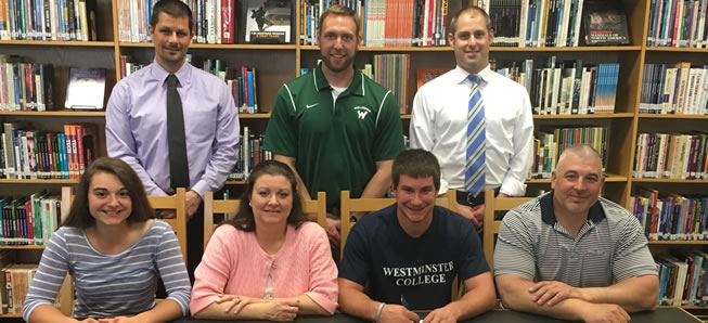 Tremper continues football career at Westminster College