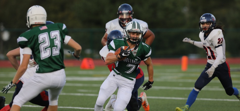 Moser's three touchdowns lead Hornets past Sayre