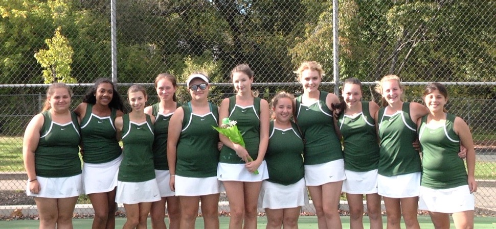 Lady Hornets sweep Liberty on Senior Night