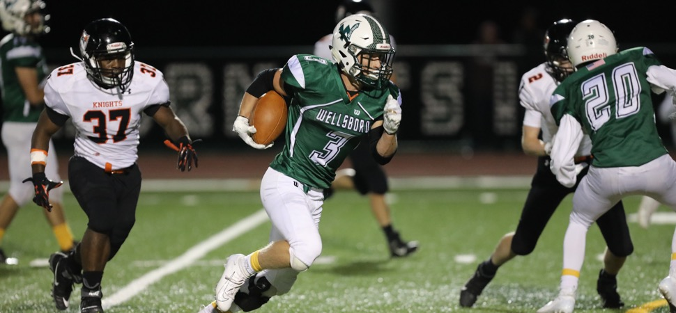 Hauser breaks rushing record in Hornets' 54-12 win against Towanda
