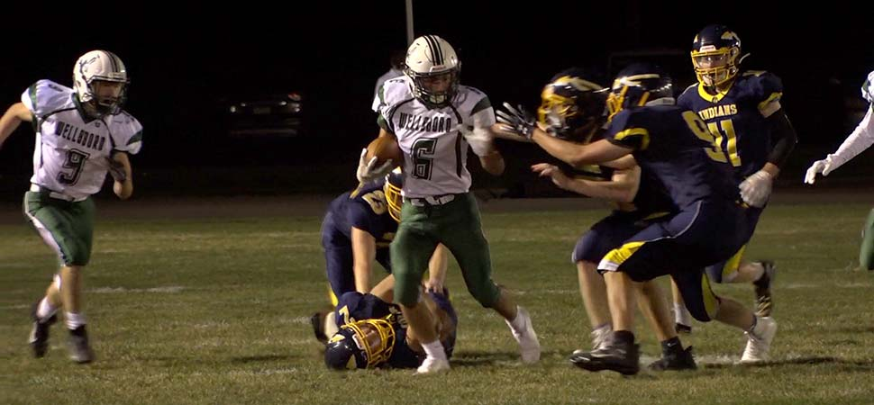 Hildebrand scores win 67 in 48-6 victory over CV.