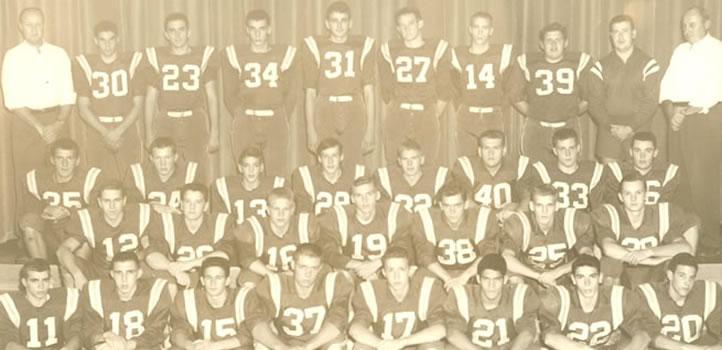 1959 Wellsboro Hornets Varsity Football Roster