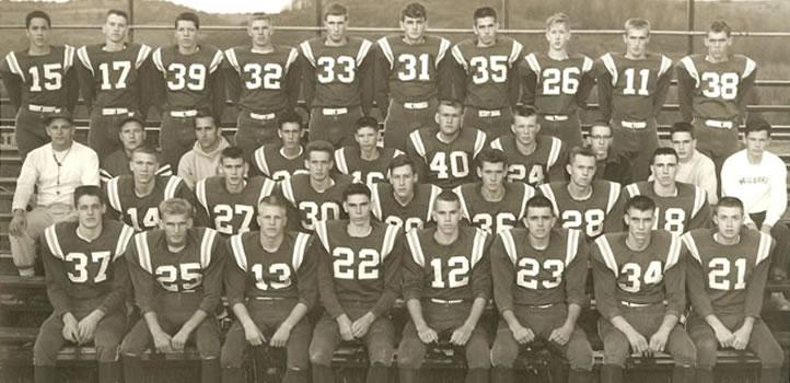 1960 Wellsboro Hornets Varsity Football Roster