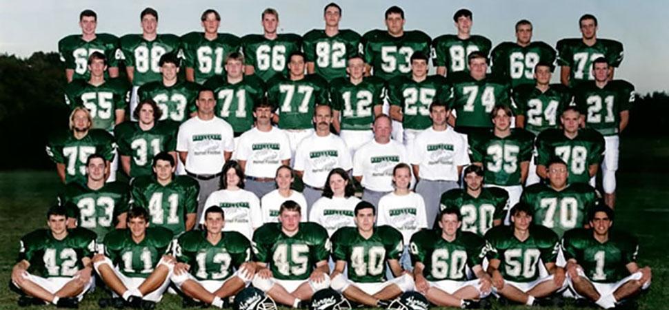 1995 Wellsboro Hornets Varsity Football Roster