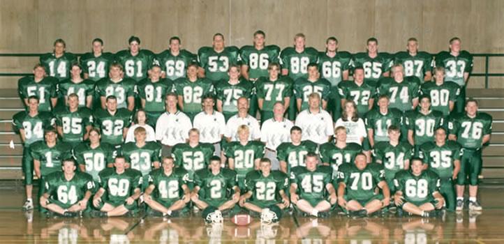 1997 Wellsboro Hornets Varsity Football Roster