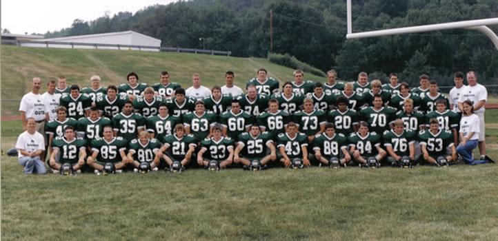 2001 Wellsboro Hornets Varsity Football Roster