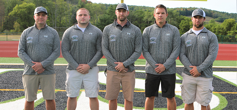 2020 Wellsboro Hornets Football Coaching Staff