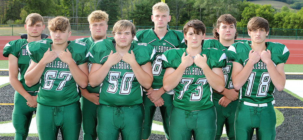 2020 Wellsboro Hornets Senior Class Football Roster