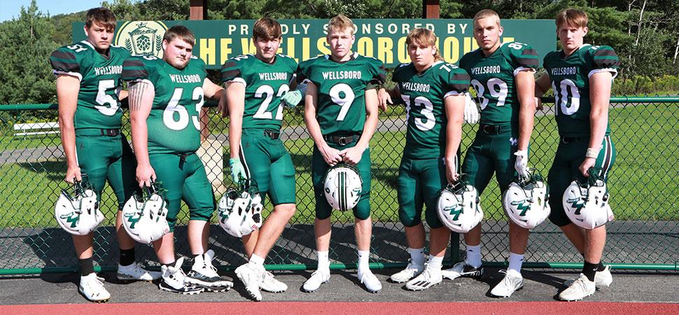 2021 Wellsboro Hornets Senior Class Football Roster