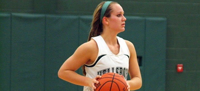 Lady Hornets key second half rally for win at Liberty