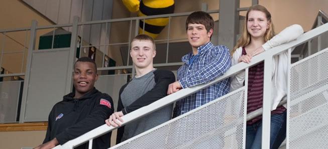 Four Hornets named to NTL All-Star team