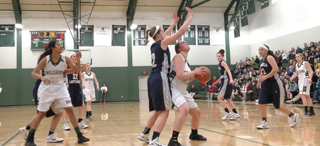 Lady Hornets fall to Mansfield, 57-47