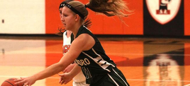 Lady Hornets top Towanda, 48-23.