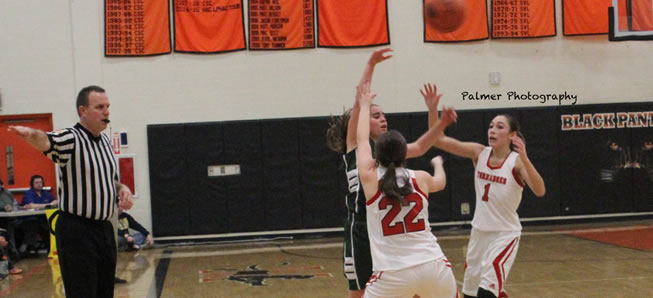 Lady Hornets fall to Mount Carmel in District title game.