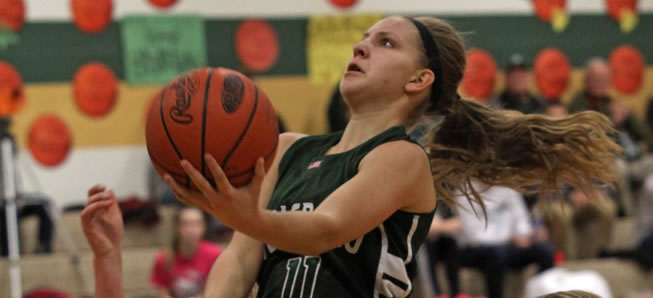 Lady Hornets survive scare from Rams, Ingerick tops 1,000 career points.