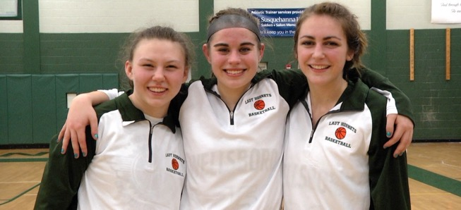 Lady Hornets roll to big win over North Penn-Mansfield on Senior Night
