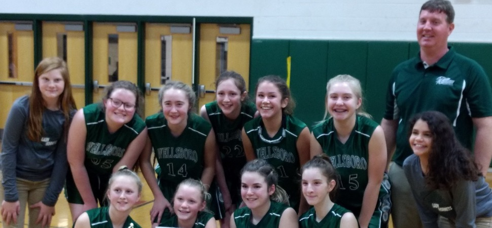 MS Lady Hornets win Wyalusing tournament.
