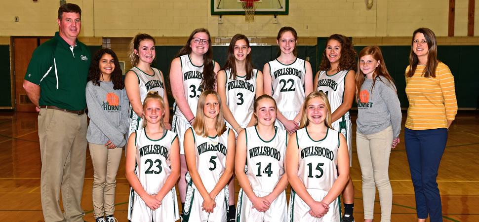 2019 Wellsboro Hornets Middle School Girls Basketball Roster