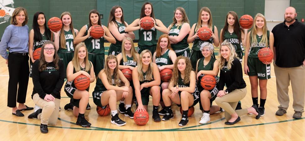 2019 Wellsboro Hornets Varsity Girls Basketball Roster