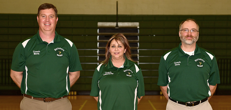 2020 Wellsboro Hornets Girls Basketball Coaching Staff
