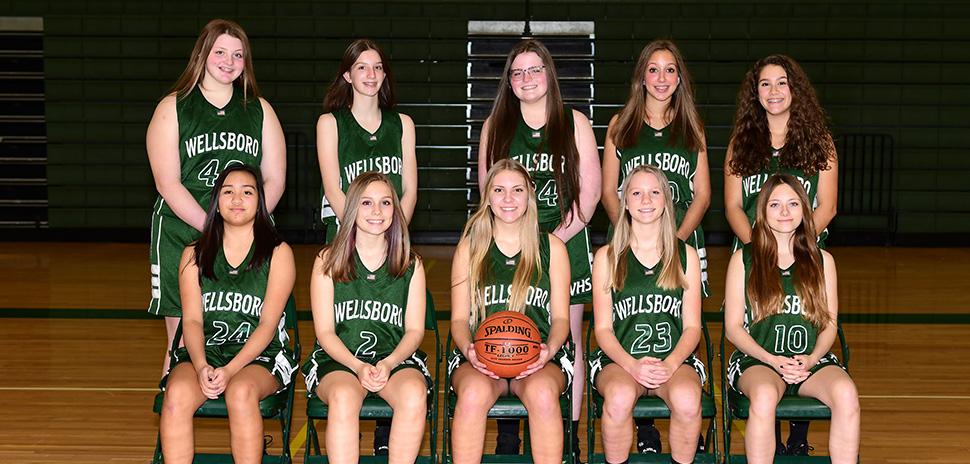 2020 Wellsboro Hornets Junior Varsity Girls Basketball Roster