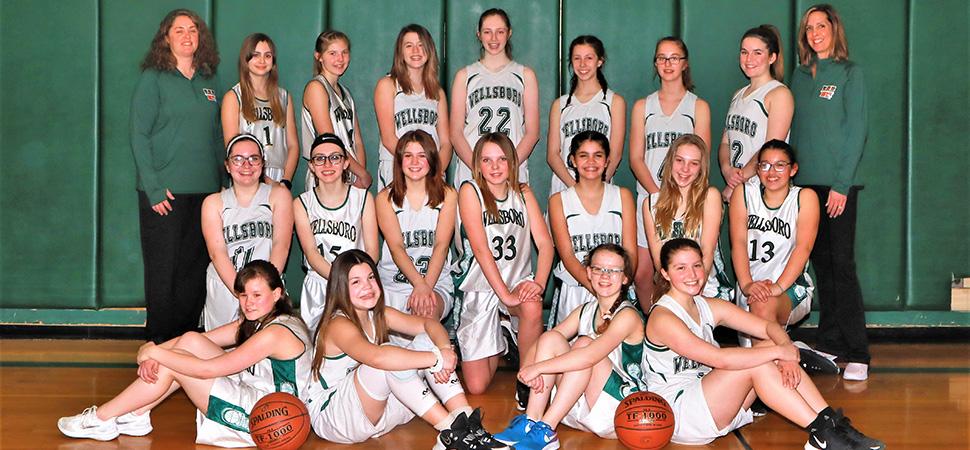 2020 Wellsboro Hornets Junior High Girls Basketball Roster