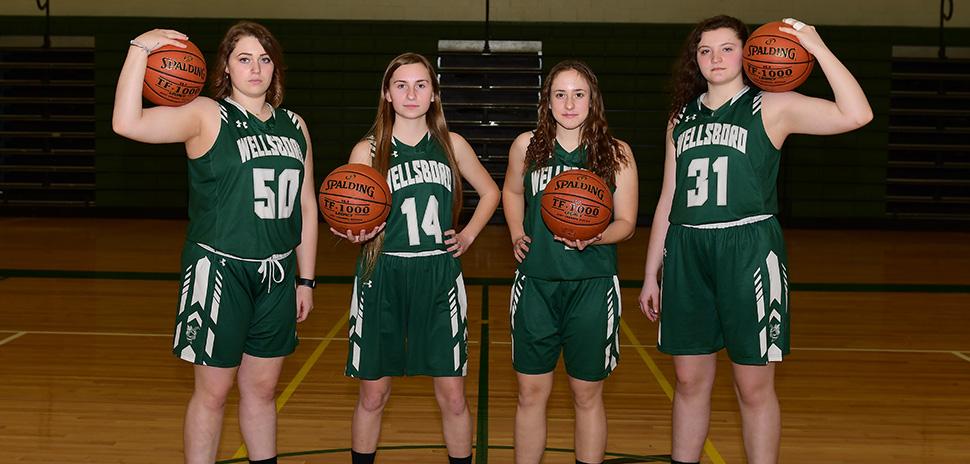 2020 Wellsboro Hornets Senior Class Girls Basketball Roster