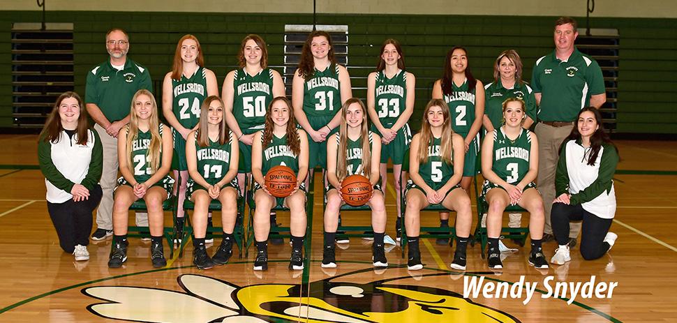 2020 Wellsboro Hornets Varsity Girls Basketball Roster