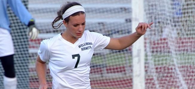 Girls soccer rolls past Williamson