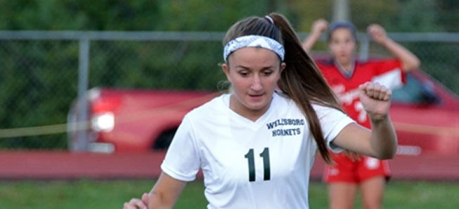 Lady Hornet soccer shuts out Wyalusing
