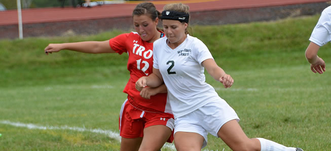 Girls Soccer falls to Troy, 3-1