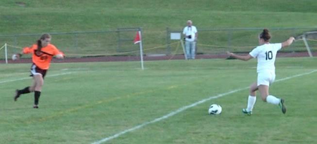 Girls Soccer knocks off NEB, 3-0