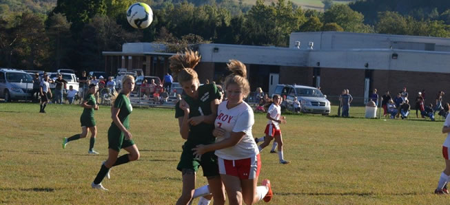 Lady Hornet Soccer shuts out Troy