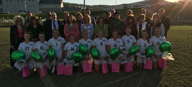 Lady Hornet Soccer ties Troy on Senior Night