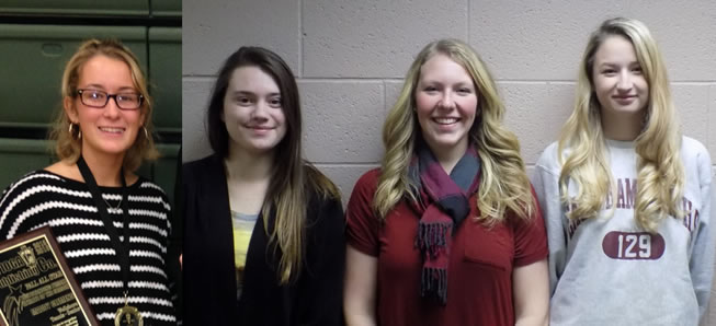 4 Lady Hornets named to All-Region tennis team.